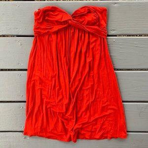 ❗️3/$15 - Forever 21 Burnt Orange Flowy Summer Top